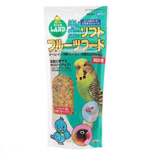 消費期限 2023/06/30  マルカン 半生ソフトフルーツフード 100g 飼鳥用 鳥 おやつ フルーツ 関東当日便