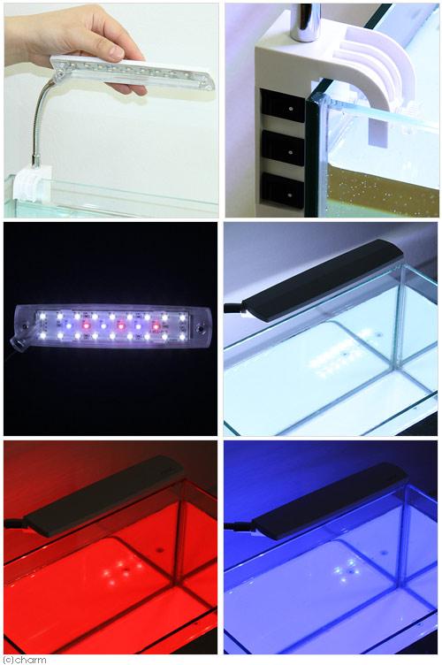 ジェックス 일반 LED 에코 리오 팔 어항 용 조명 및 LED 조명 간토 당일 항공편