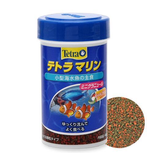 消費期限 プレゼント 2023 03 23 海水魚の主食 ミニグラニュール テトラ 全商品オープニング価格 関東当日便 マリン 48g