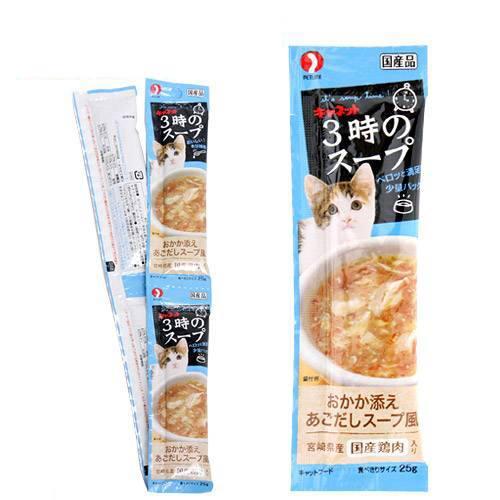 消費期限 2023 05 13 キャネット 3時のスープ おかか添え 25g×4 猫 おやつ あごだしスープ風 4連 迅速な対応で商品をお届け致します 正規逆輸入品 関東当日便