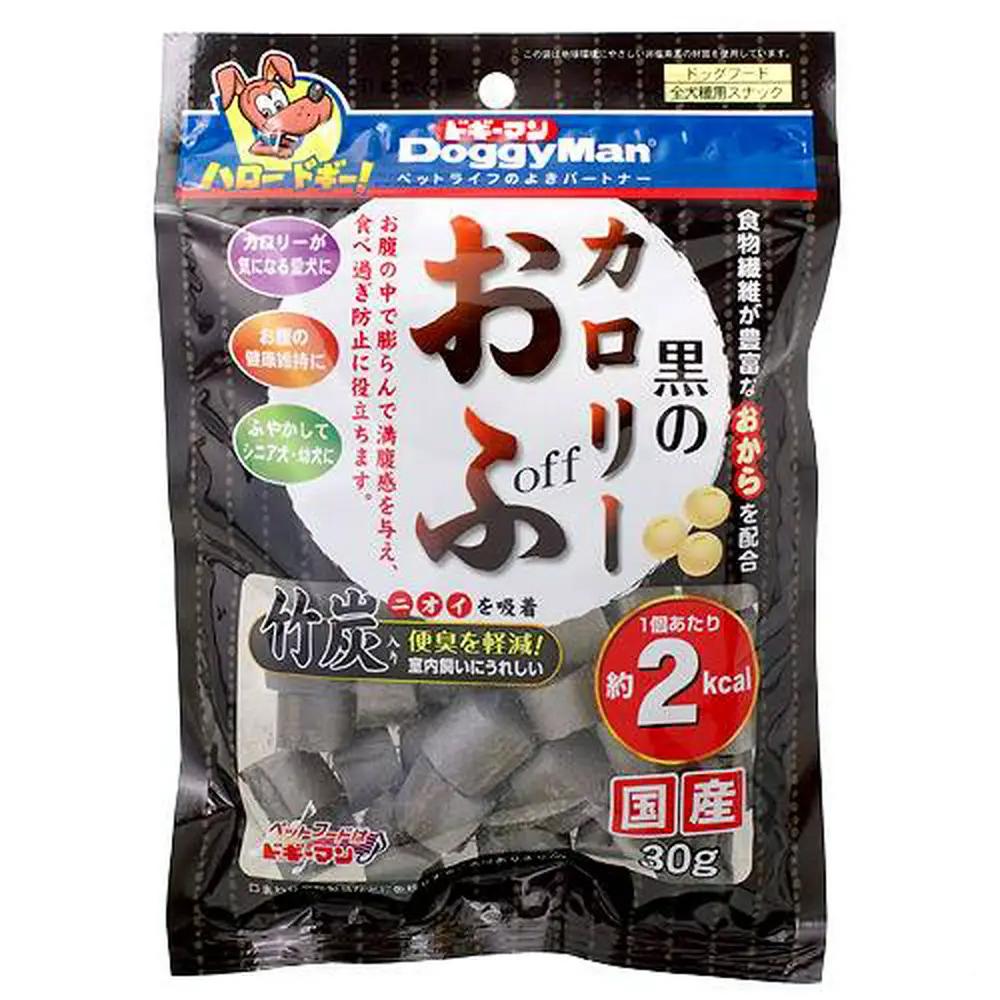 消費期限 2022 07 ついに入荷 31 ドギーマン 関東当日便 30g 黒のカロリーおふ 犬 SALE おやつ