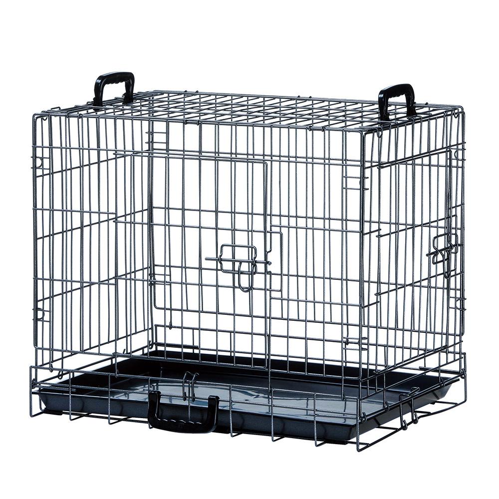 マルカン コンパクトケージ M 小型犬 猫 ゲージ 折りたたみ 関東当日便