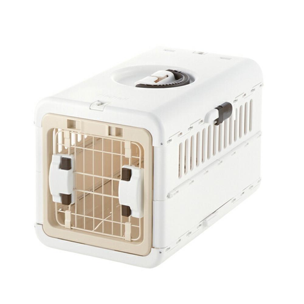 リッチェル キャンピングキャリー 折りたたみ 関東当日便 S 美品 アイボリー タイムセール