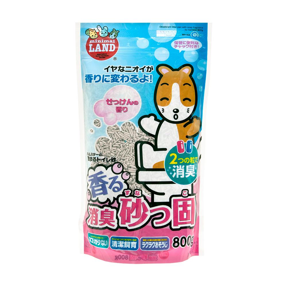マルカン 香る消臭砂っ固 800g 関東当日便 大注目 100%品質保証!