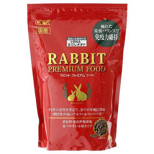 消費期限 2022 12 31 GEX ラビットプレミアムフード フード 関東当日便 新作販売 国産 誕生日プレゼント 850g ウサギ