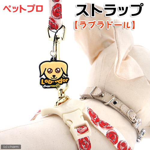 アウトレット品 ペットプロ ストラップ ラブラドール 犬 首輪 関東当日便