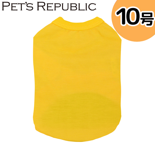 PET'S REPUBLIC スタンダードTシャツ 10号 イエロー 関東当日便