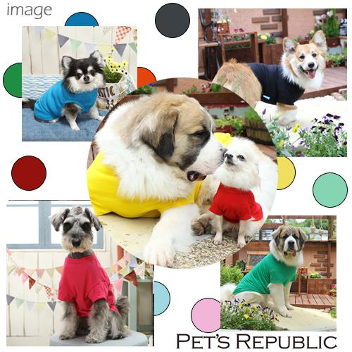PET'S REPUBLIC スタンダードTシャツ 11号 ホワイト 関東当日便