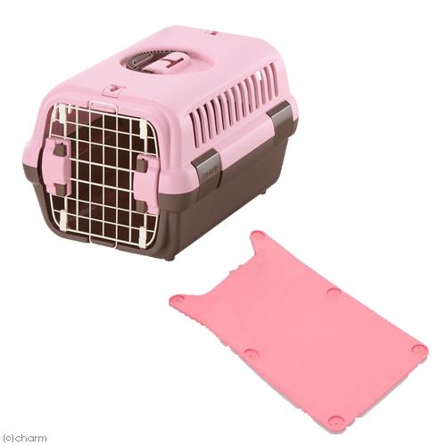 キャンピングキャリー S ライトピンク キャリーマット レギュラー 5kgまで 豊富な品 未使用 ピンク 関東当日便 セット