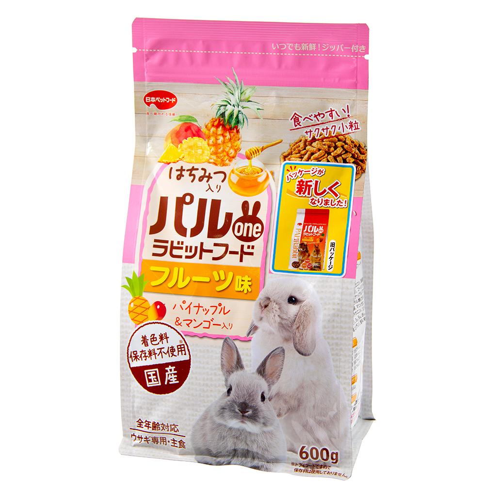 消費期限 日本産 2023 07 31 フィード ワン パルone 600g パイナップル 関東当日便 フルーツ味 ラビットフード マンゴー 海外限定