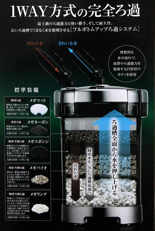 GEX メガパワー 1215 水槽用外部フィルター ジェックス 沖縄別途送料 関東当日便