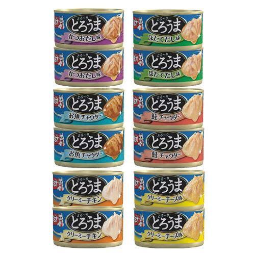 消費期限 おすすめ特集 2022 12 25 アソート ミオ 70g 関東当日便 缶詰 とろうま 6種各2缶 大決算セール キャットフード