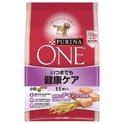 ピュリナワンドッグ 11歳以上 いつまでも健康ケア 小粒 チキン 2.1kg 4袋入 超高齢犬用 関東当日便