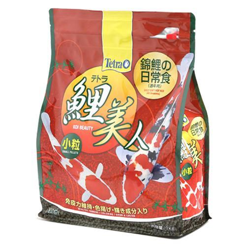 テトラ 鯉美人小粒 1kg 錦鯉 餌 飼料 浮上性 関東当日便