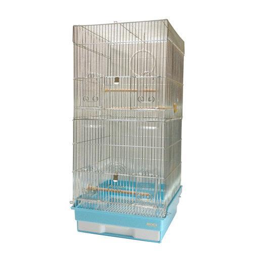 HOEI 35ロング (35−L)(底色:ブルー) 小鳥 インコ 大型ケージ 沖縄別途送料 関東当日便
