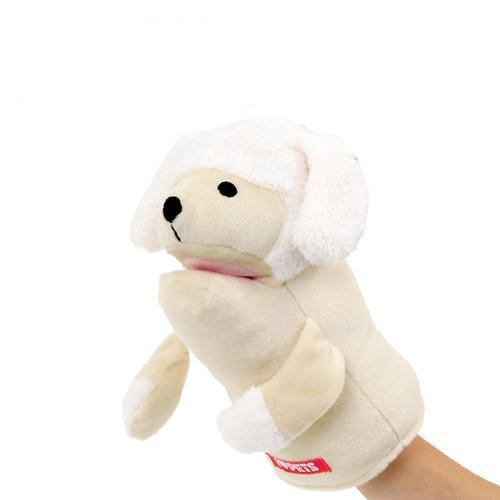 定番スタイル アニマルミトン ラブドッグ トイプードル 犬 おもちゃ ミトン 捧呈 関東当日便