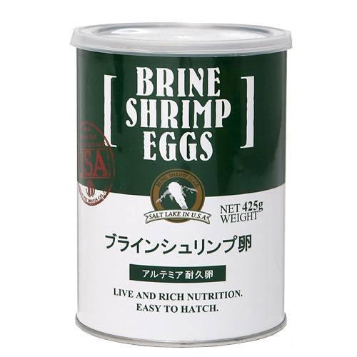 日本動物薬品 ニチドウ ブラインシュリンプエッグス 425g 缶入り ソルトレイク産 卵 沖縄別途送料 関東当日便