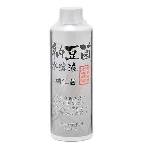 ソネケミファ 納豆菌水溶液+硝化菌(淡水・海水両用) 250ml 関東当日便
