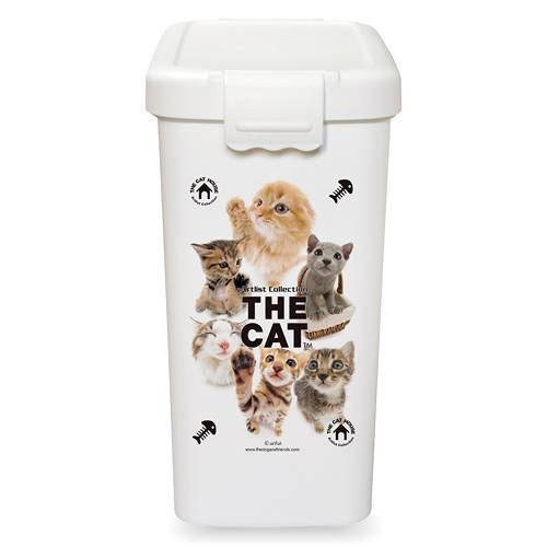 THE CAT フードボックス L ホワイト 関東当日便