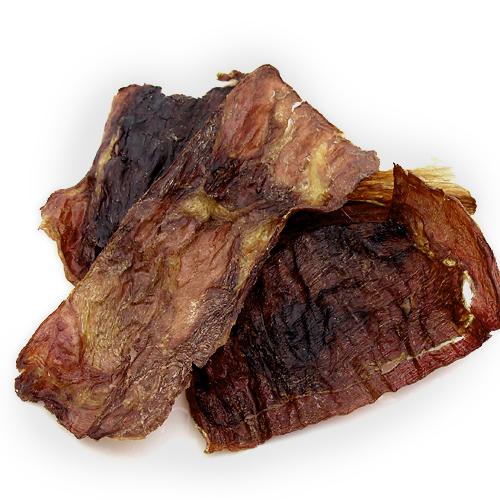 消費期限 2021/12/10  国産 うす~くスライスして焼いた 猪肉のジャーキー 20g 無添加 無着色 犬猫用 PackunxCOCOA 関東当日便