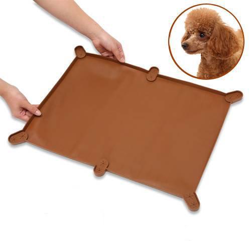 ターキー NEWトイレマット ワイド ブラウン 57.7×43.7cm 海外限定 関東当日便 犬用トイレ 高価値