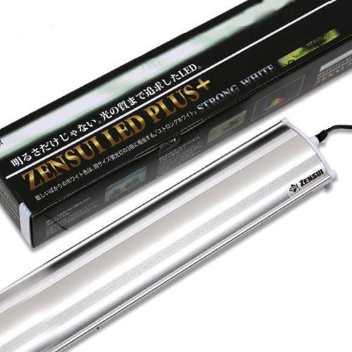 ZENSUI LED PLUS 60cm ストロングホワイト 水槽用照明 ライト 熱帯魚 水草 沖縄別途送料 アクアリウムライト 関東当日便