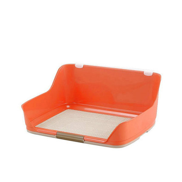 同梱不可・中型便手数料 ボンビアルコン しつけるウォールトレー M オレンジ 犬 トイレ 才数170 お一人様1点限り