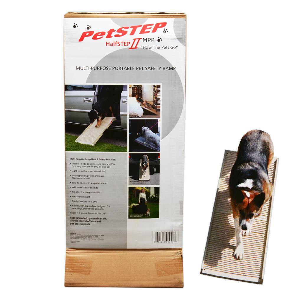 (大型)ペットステップ ハーフ 犬・猫用 スロープ 100cm 別途大型手数料・同梱不可