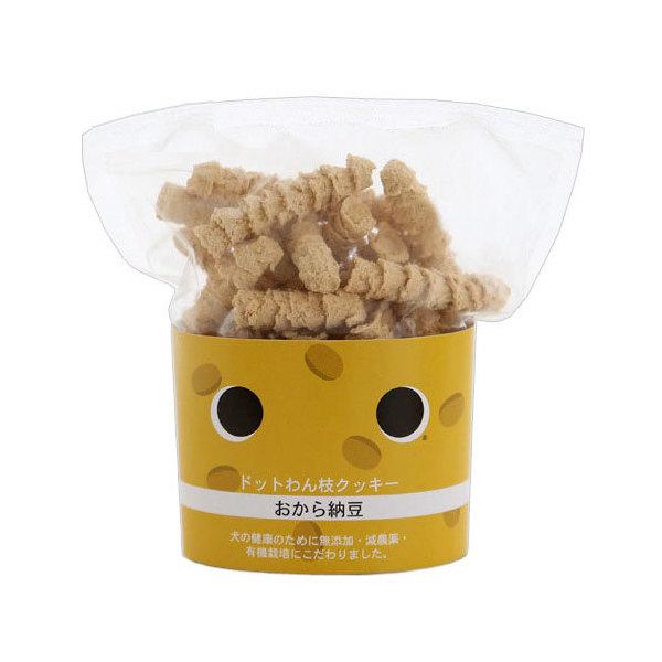 ドットわん 枝クッキー おから納豆 45g ドッグフード おやつ 国産 関東当日便