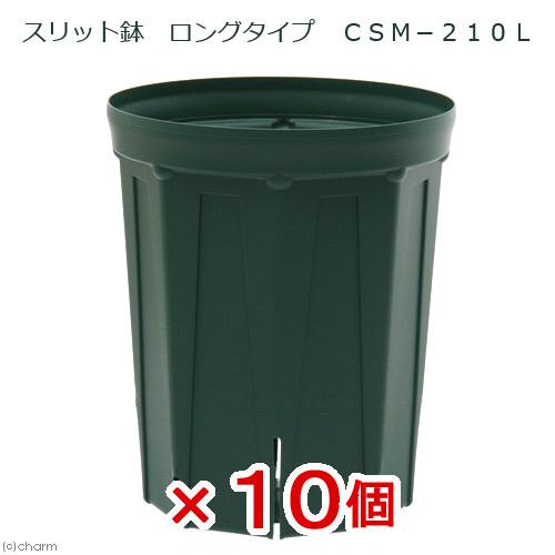 スリット鉢 ロングタイプ CSM-210L 10個セット ガーデニング 鉢 お一人様1点限り 関東当日便