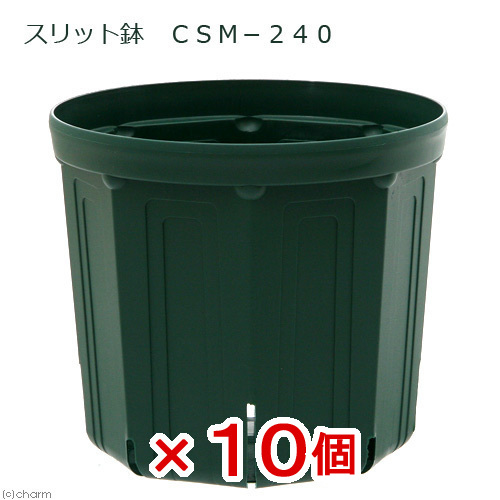 スリット鉢 CSM-240 10個入り ガーデニング 鉢 お一人様1点限り 関東当日便