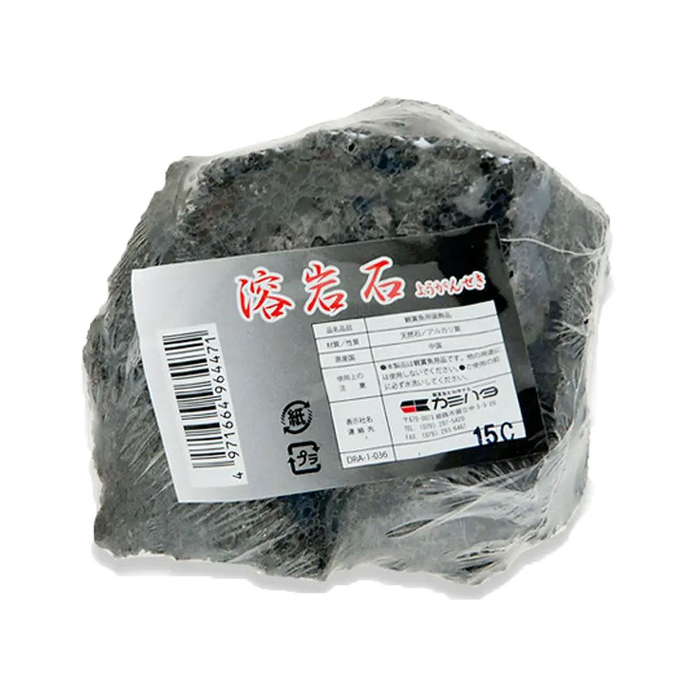 カミハタ アクアリウムロック 溶岩石 形状お任せ 関東当日便