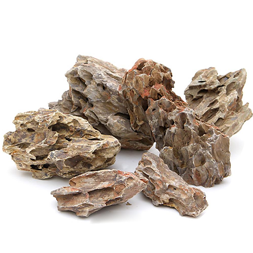 形状お任せ 陽火石 サイズミックス(約5~30cm) 5kg 45cm水槽向け 関東当日便