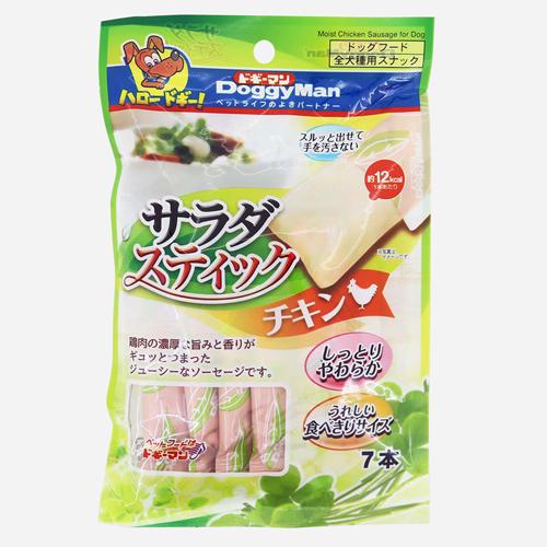 消費期限 2021 11 30 ドギーマン チキン 関東当日便 サラダスティック セットアップ ショップ 7本