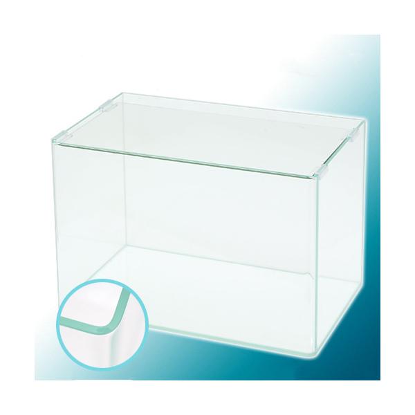 スーパークリア 前面曲げガラス水槽 アクロ45R(45×27×30cm)45cm水槽(単体) Aqullo お一人様1点限り 沖縄別途送料 関東当日便