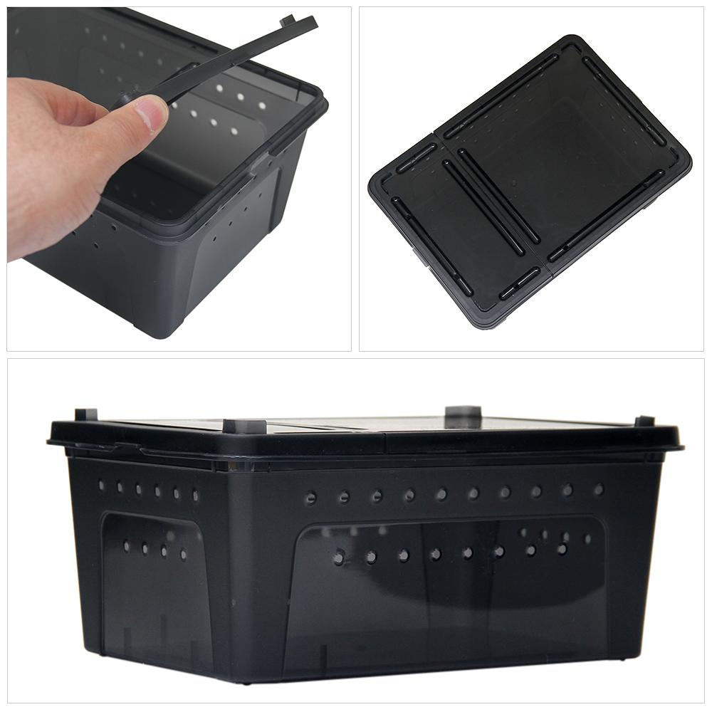 ブリードボックス Mサイズ ブラック 26×17.5×11.5cm×5個【HLS_DU】