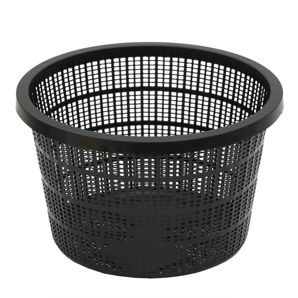 池用植物カゴ 丸中 21×21×13cm ビオトープ 関東当日便