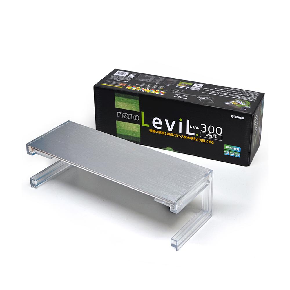 ゼンスイ Nano Levil 300 W 水草育成特化型 LED 21.4W 2280lm 沖縄別途送料 関東当日便