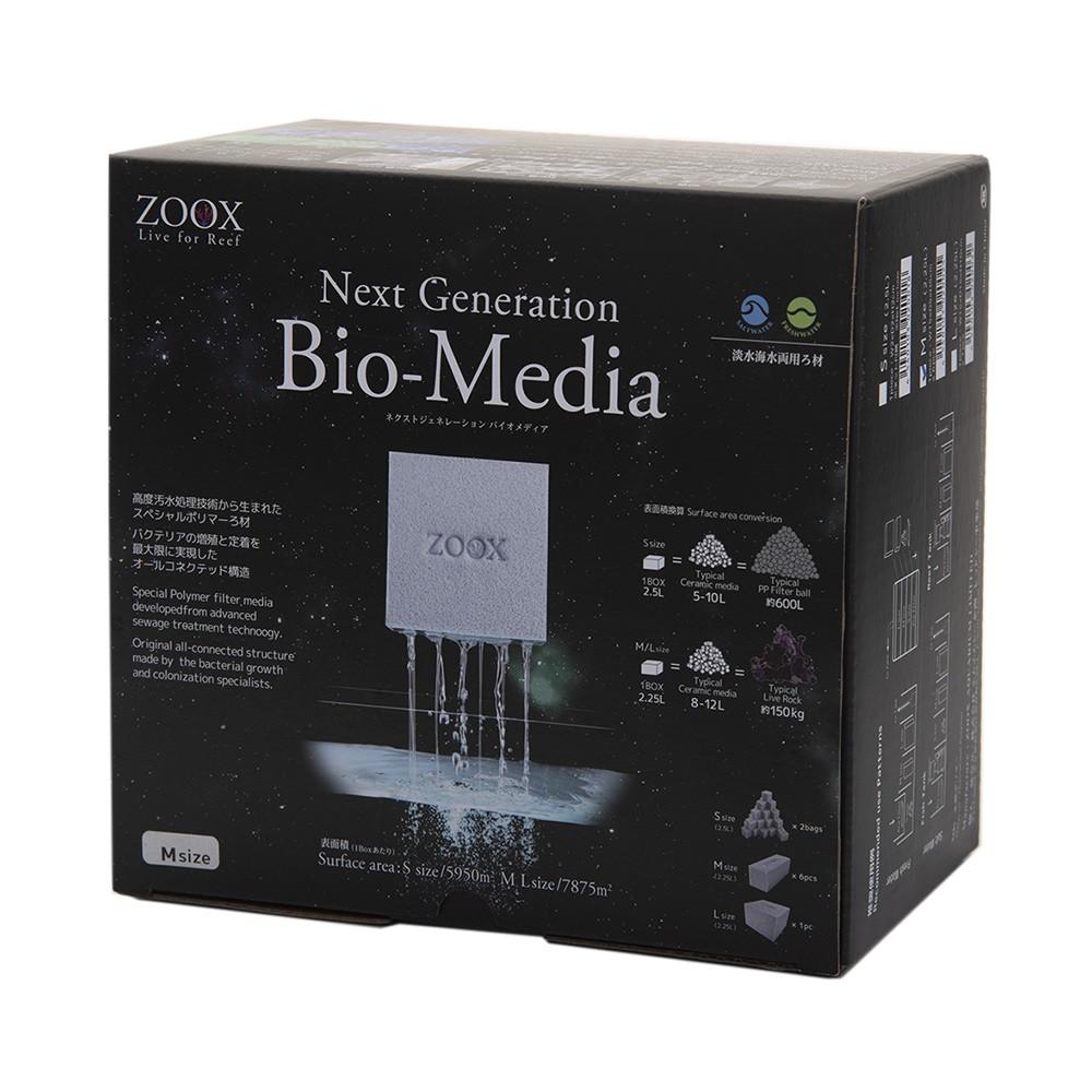 好評 ZOOX ネクストジェネレーション バイオメディア Mサイズ 2.25L 淡水両用 沖縄別途送料 ろ材 価格 海水 関東当日便