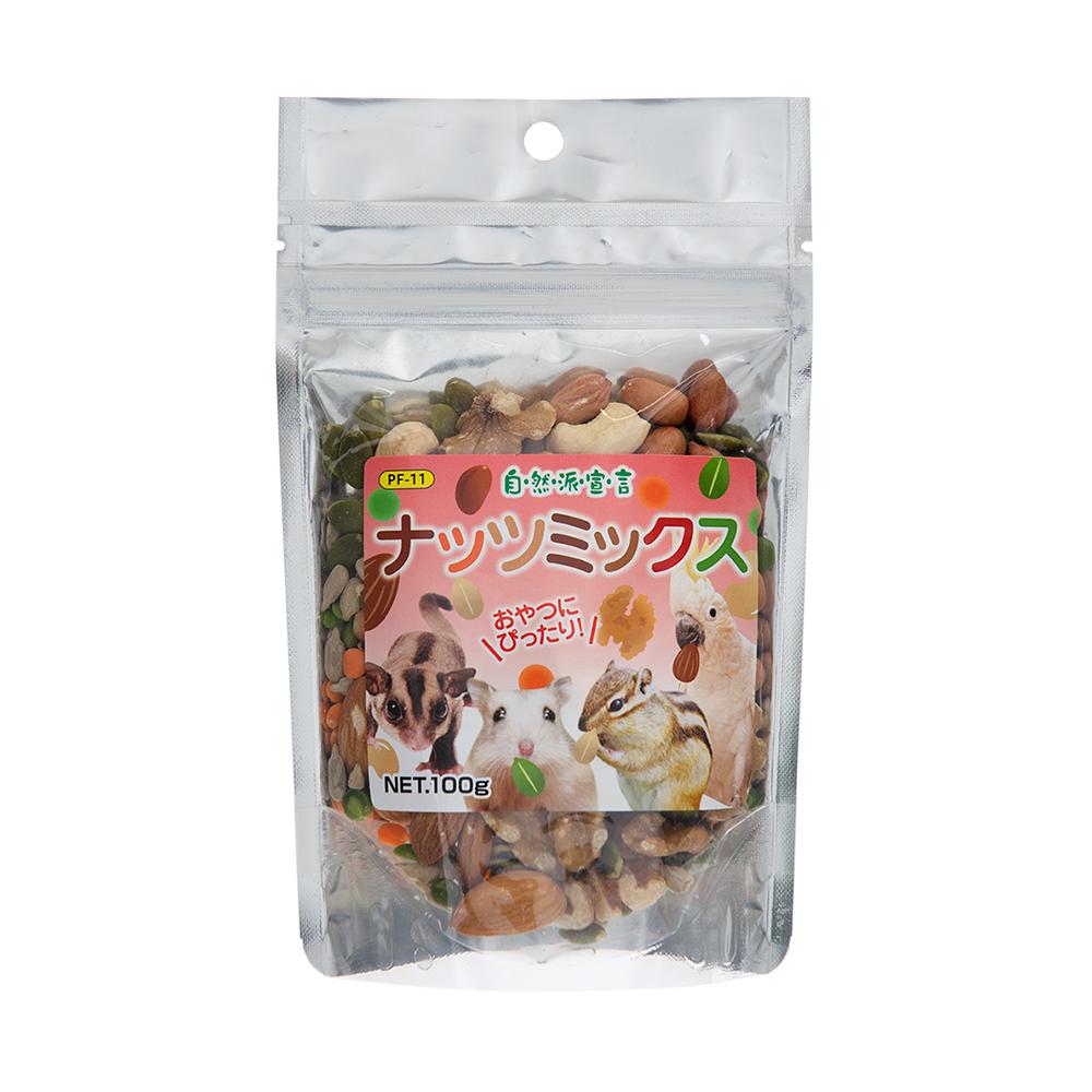 消費期限 2022/11/30  黒瀬ペットフード 自然派ナッツミックス 100g 関東当日便