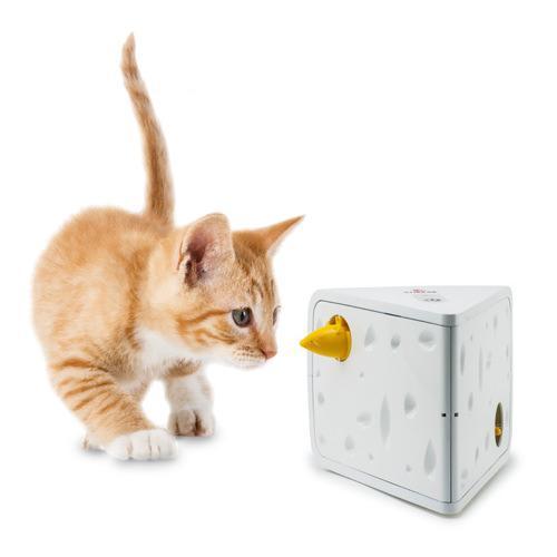 フローリーキャット チーズ 猫 電動おもちゃ 関東当日便