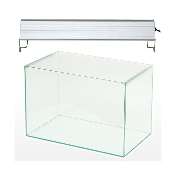 オールガラス45cm水槽 アクロ45N TRIANGLE LED BRIGHT セット お一人様1点限り 沖縄別途送料【HLS_DU】 関東当日便