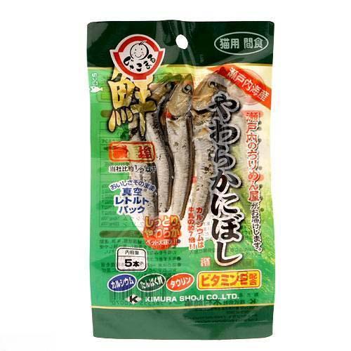 消費期限 2023 02 07 木村商事 猫用 公式 おやつ 猫 やわらかにぼし 格安激安 2袋入り 関東当日便 5本