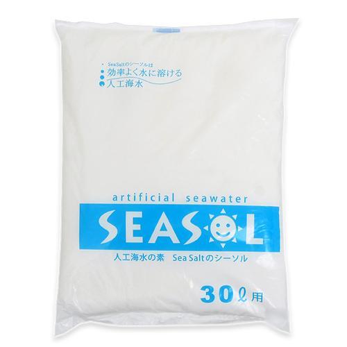 人工海水の素 SEA SALT シーソル 30L用 関東当日便