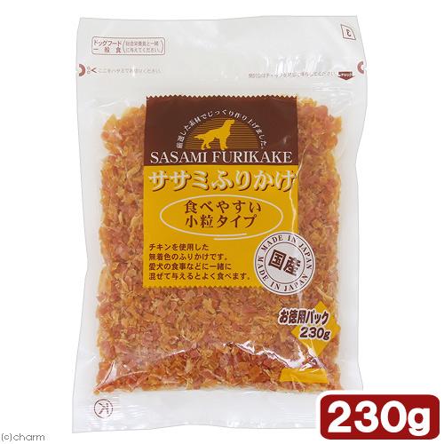 消費期限 2022 SALE 07 31 九州ペット ササミふりかけ 230g 驚きの価格が実現 関東当日便 食べやすい小粒タイプ