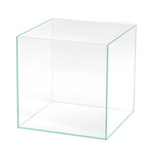 同梱不可・中型便手数料 45cmキューブ水槽(単体)スーパークリア アクロ45キューブ(45×45×45cm)フタ無し オールガラス水槽 才数170【HLS_DU】