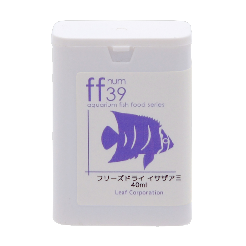 消費期限 2022 07 31 aquarium fish 手数料無料 food 関東当日便 イサザアミ ff ご予約品 40mL num39 フリーズドライ