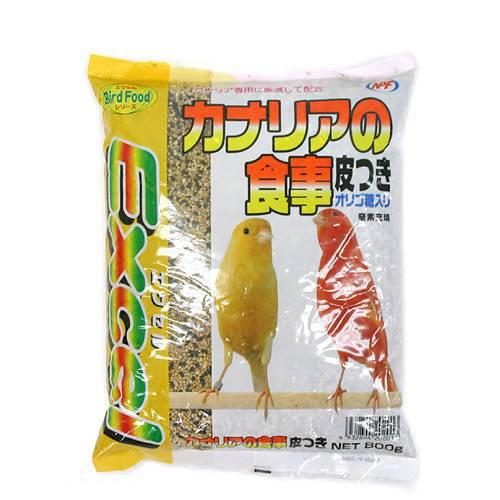 消費期限 2022/03/31  NPF エクセル カナリアの食事 皮つき 800g 主食 関東当日便