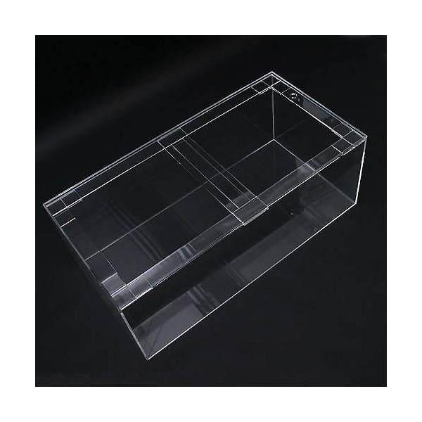 □メーカー直送 (受注生産)アクリル水槽(サイズ:180×45×60cm 板厚:10×12×8mm) 同梱不可 別途送料