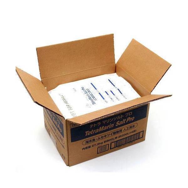 テトラ マリンソルトプロ 800L用 200L用×4袋 送料無料お手入れ要らず 27.2kg お一人様1点限り セール商品 沖縄不可 箱 人工海水